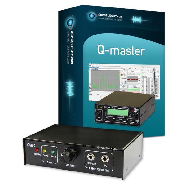 Software Q-master 5000 + sběrnice QMI-2 pro MRA 5Q a DMC 3Q