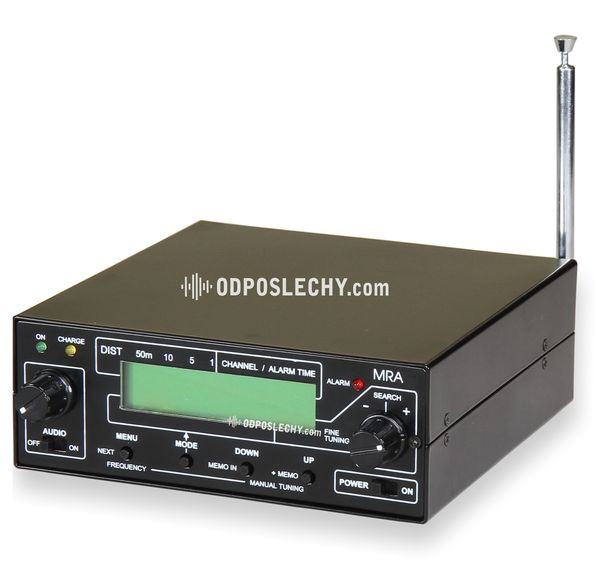 Radiový paměťový analyzátor MRA 5Q