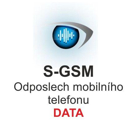 Odposlech mobilního telefonu S-GSM, verze DATA 2017, profesionální instalace, dodávka na klíč