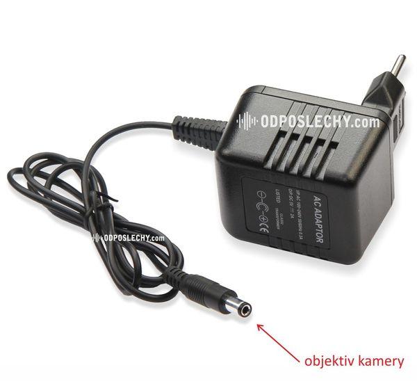 Skrytá kamera se záznamem obrazu i zvuku kamuflovaná v nabíječce DVR-400N (kamera v kabelu)