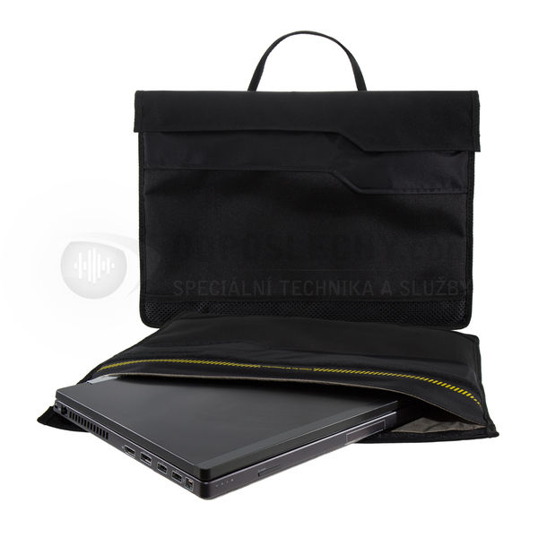 Stíněné nepropustné pouzdro Faraday Shield pro notebook