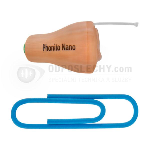 Profesionální mikrosluchátko pro skrytou komunikaci a nápovědu Phonak Phonito Nano
