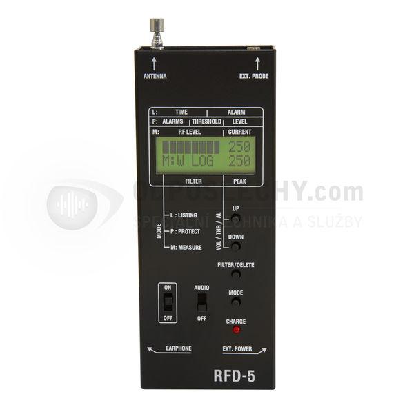 Univerzální detektor odposlechových zařízení RFD-5