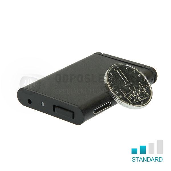 Mikro-diktafon EDIC B80 Black Edition CZ
