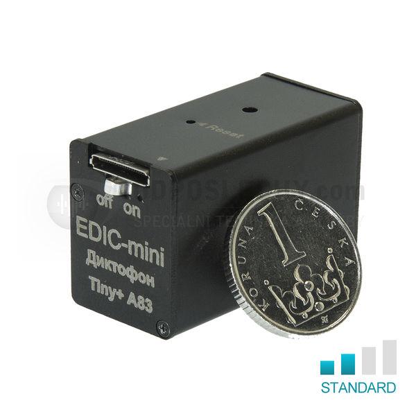 Mikro-diktafon EDIC A83 komerční verze EN
