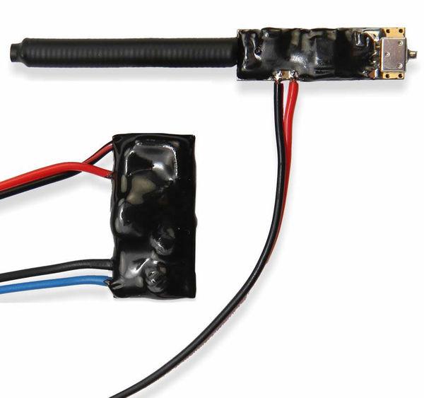 UHF bezdrátový odposlech R500 AC4 - pro trvalou instalaci, napájení přímo z 230 V