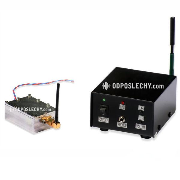 Digitální bezdrátový odposlech s přijímačem a šifrovanou komunikací R750 DS