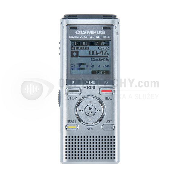 Digitální diktafon Olympus 2 GB - vhodný pro S44, S55 a TO LINE